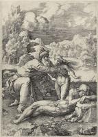 Лукас ван Лейден (Лука Лейденский). Сотворение Евы