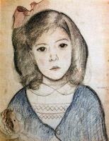 Хуан Еспландиу. Маленькая девочка