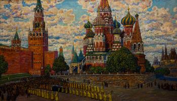Крестный ход из Кремля