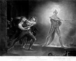 Иоганн Генрих Фусели. Гамлет и призрак его отца