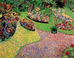 Vincent van Gogh. Garden in Auvers