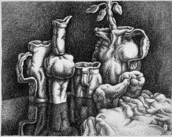 Виктор Альтман. Натюрморт с грушей