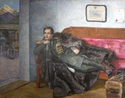 Петр Петрович Кончаловский. Лермонтов