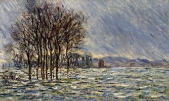Клод Моне. Наводнение