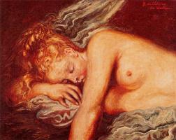 Джорджо де Кирико. Спящий ангел
