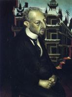 Отто Дикс. Портрет юриста д-ра Фрица Глейзера