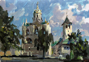 Борис Анатольевич Студенцов. Спасо-Преображенский монастырь