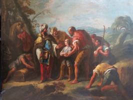 Гаспаро Дициани. Братья продают Иосифа в рабство