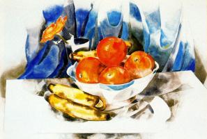 Чарльз Демут. Натюрморт с фруктами