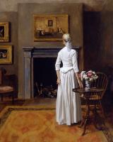 Уильям Уитакер. Девушка в белом платье