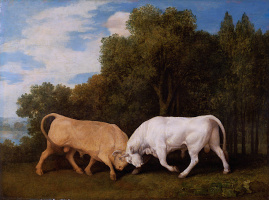 George Stubbs. Bullfight