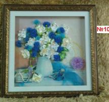 Васильки и лилии