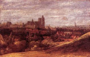 Геркулес Сегерс. Вид Брюсселя с северо-востока