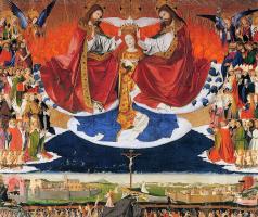 Ангерран Шаронтон. Коронование Девы Марии. Алтарь картезианцев
