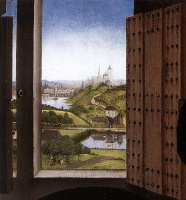 Рогир ван дер Вейден. Санкт-Иво. Фрагмент