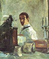 Анри де Тулуз-Лотрек. Автопортрет перед зеркалом