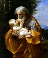 Гвидо Рени. Иосиф с младенцем Христом на руках