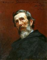 Генрих Ипполитович Семирадский. Портрет Александра Станкевича
