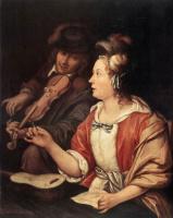 Франц ван Мирис Старший. Урок музыки