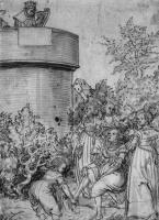 Lucas Cranes the Elder. David and Bathsheba