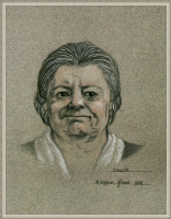 Робин Вуд. Пожилая женщина