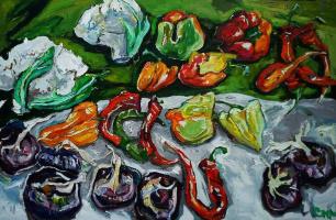 Александра Сырбу. Крымские овощи