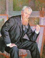 Максимилиан Люс. Портрет джентльмена с бородой