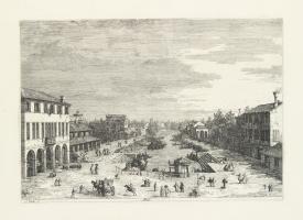 Джованни Антонио Каналь (Каналетто). Площадь города Местре