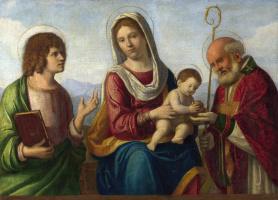 Джованни Баттиста Чима да Конельяно. Дева с младенцем и святыми