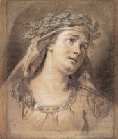 Jacques-Louis David. Sadness