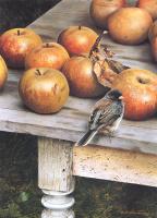 Карл Брендерс. Яблоки на столе