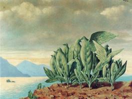 Rene Magritte. Treasure island