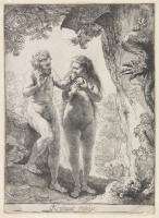 Rembrandt Harmenszoon van Rijn. Adam and eve
