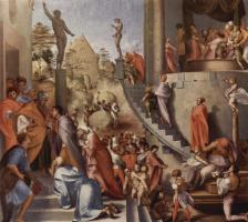 Якопо Понтормо. Иосиф в Египте