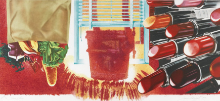 James Rosenquist. The house of fire