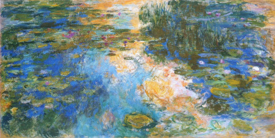 Клод Моне. Пруд с водяными лилиями
