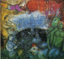 Марк Захарович Шагал. Большой парад