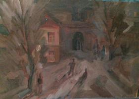 Олег Николаевич Матиевич. Старый город