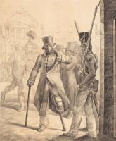 Теодор Жерико. Швейцарский часовой в Лувре