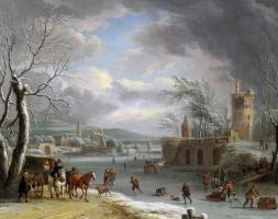 Дирк Даленс. Зимний пейзаж