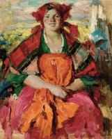 Abram E. Arkhipov. The girl from the Forest