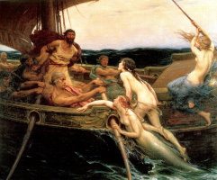 Herbert Draper. Ulysses and the sirens