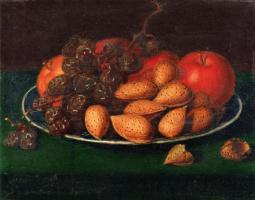 Рафаэль Пил. Фрукты, орехи и виноград
