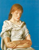 Тамара Лемпицка. Девушка со скрещенными руками