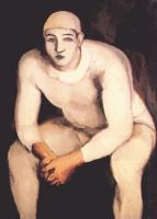 Walt Kun. White clown