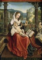 Бернард ван Орлей. Мадонна с младенцем и юным Иоанном Крестителем (Мадонна с грушей)