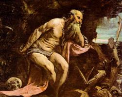 Якопо да Понте Бассано. Блаженный Иероним
