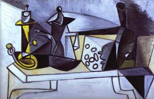 Пабло Пикассо. Натюрморт с сыром