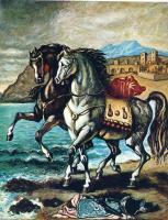 Джорджо де Кирико. Лошади