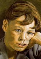 Люсьен Фрейд. Голова мальчика